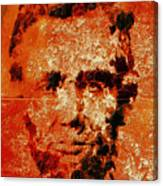 Abraham Lincoln 4d Canvas Print