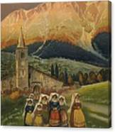 Abrvzzo Canvas Print