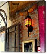 Absinthe Bar Canvas Print
