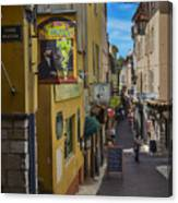 Absinthe In Antibes Canvas Print