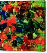 Vibrant Flow. Canvas Print