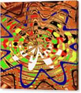 Abstract #1859drawpc Canvas Print
