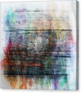 2e Abstract Expressionism Digital Painting Canvas Print