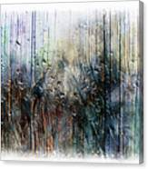2f Abstract Expressionism Digital Painting Canvas Print