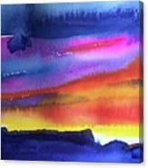 Joan's Sunset Canvas Print