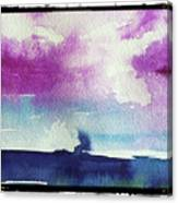 Purple Sky's  Canvas Print