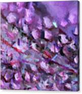 Abstract 91 Digital Oil Painting On Canvas Full Of Texture And Brig Canvas Print