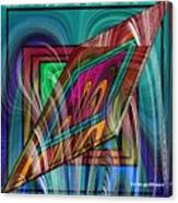Abstract 9554 Canvas Print