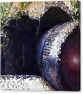 Abstract Analog Camera Canvas Print