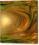 Abstract Art -the Core By Rgiada Canvas Print