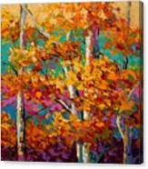 Abstract Autumn IIi Canvas Print