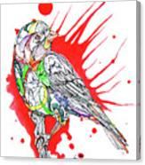 Abstract Bird 002 Canvas Print