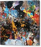 Abstract Blast Canvas Print