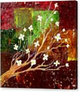 Abstract Blossom Canvas Print