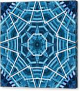 Abstract Blue 19 Canvas Print