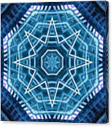 Abstract Blue 20 Canvas Print
