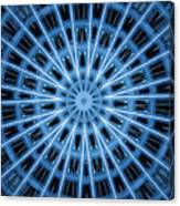Abstract Blue 28 Canvas Print