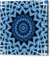 Abstract Blue 30 Canvas Print