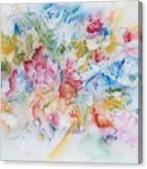 Abstract Bouquet Canvas Print