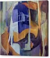 Abstract Bridges Canvas Print
