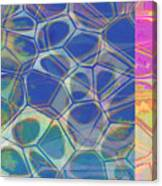 Abstract Cells 6 Canvas Print