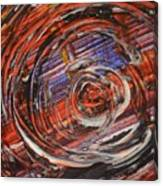 Abstract- Circle Canvas Print