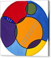 Abstract Circles 2 Canvas Print