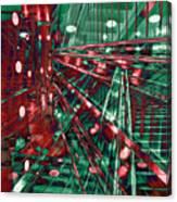 Red Berlin Sound Canvas Print