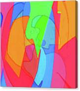 Abstract Color Block  Canvas Print