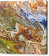 Abstract Colour Canvas Print