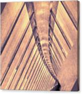 Abstract Corridor Architecture Canvas Print