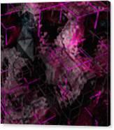 Abstract Crystal - Cg Render Canvas Print