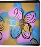 Abstract Daisy  Canvas Print