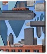 Abstract Dallas Canvas Print