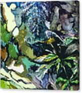 Abstract Dandelion Canvas Print