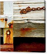 Abstract Dock Canvas Print