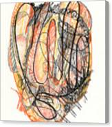 Abstract Drawing Forty-five Canvas Print