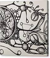 Abstract Drawing Canvas Print