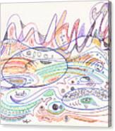 Abstract Drawing Nineteen Canvas Print