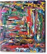 Abstract Expressionism Bvdschueren Canvas Print