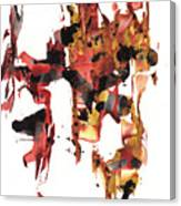 Abstract Expressionism Painting Series 744.102110 Canvas Print