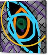 Abstract Eye Canvas Print