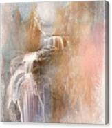 Abstract Falls Canvas Print