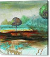 Abstract Fantasy Landscape Canvas Print
