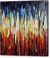 Abstract Fire And Ice Canvas Print