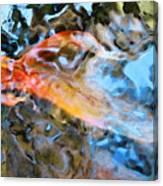 Abstract Fish Art - Fairy Tail Canvas Print