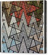 Abstract Floor  Canvas Print