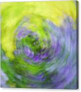 Abstract Flower-bed Canvas Print
