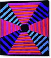 Abstract Fun Tunnel Canvas Print