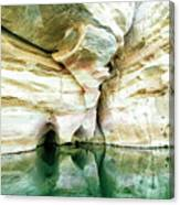 Abstract Gorge Canvas Print